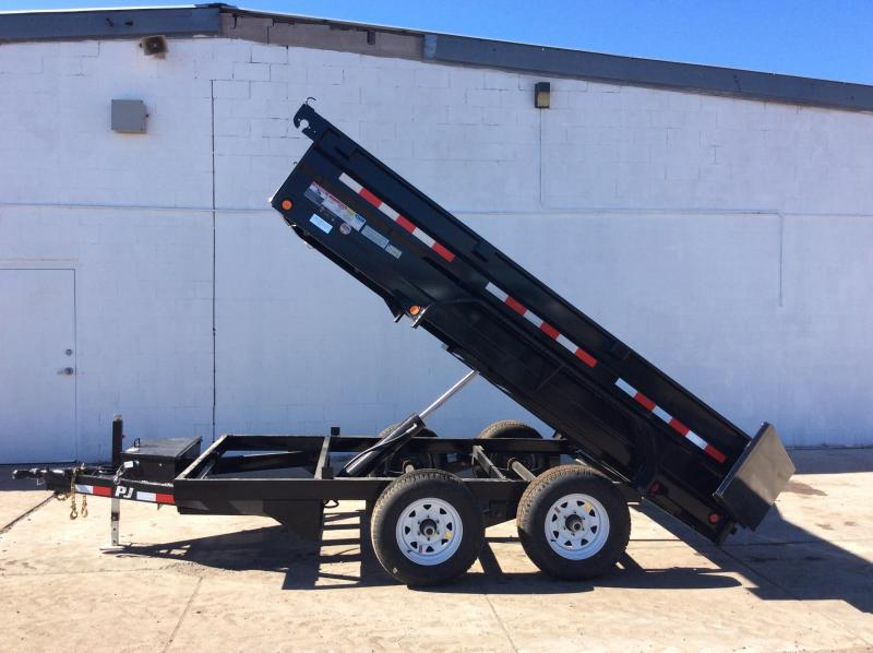 2019 PJ Trailers 72 in. X12ft Tandem Axle Dump  Trailer