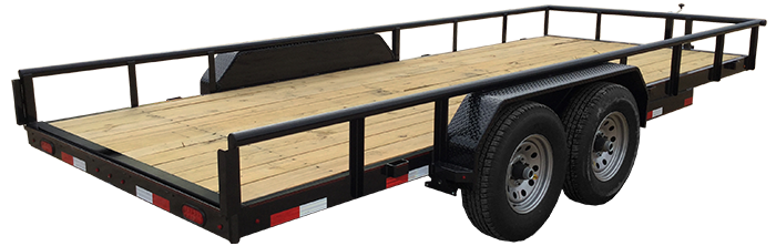 2018 Lamar Trailers Heavy Duty Utility Trailer (U5)