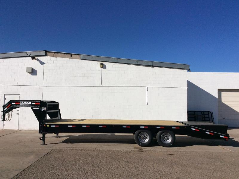 2019 Lamar 25ft Heavy Duty Deck-Over Flatbed (FS)