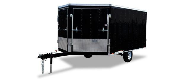 2019 Cargo Express XL Denali Covered Snowmobile Trailer