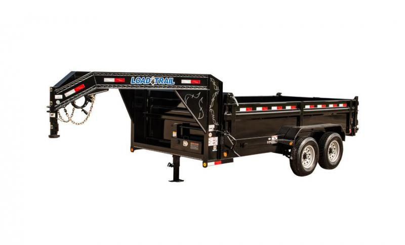 "2019 Load Trail GD10 - Gooseneck Dump 9990 Lb w/ 6"" Channel Frame"