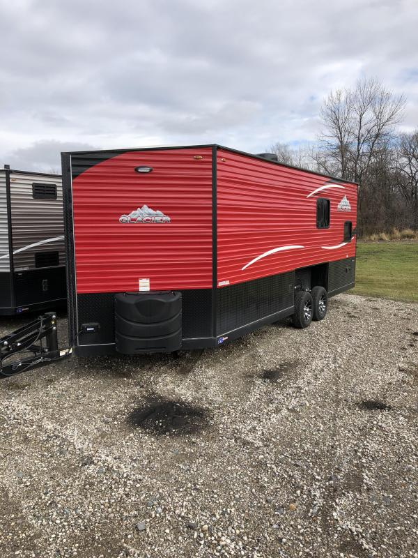 2019 Glacier A216RD Ice/Fish House Trailer