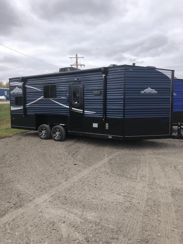 2020 Glacier 20Ft Rv Explorer Ice/Fish House Trailer