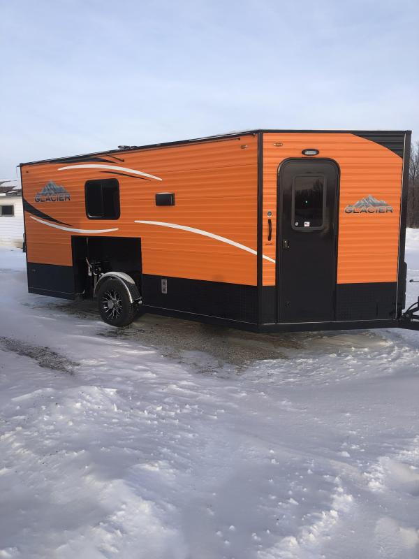2019 Glacier A164RD Ice/Fish House Trailer