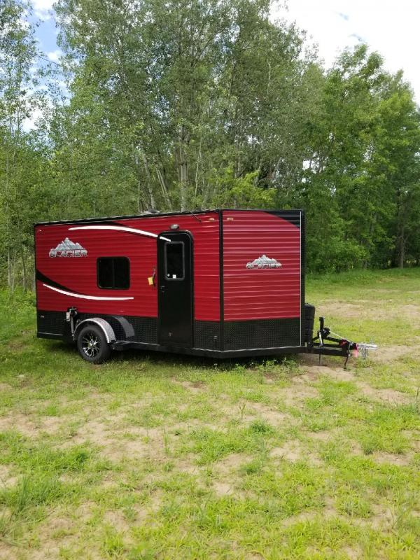 2019 Glacier A614RC Ice/Fish House Trailer