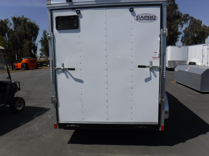 2019 Pace American EX6X12TE2 Enclosed Cargo Trailer
