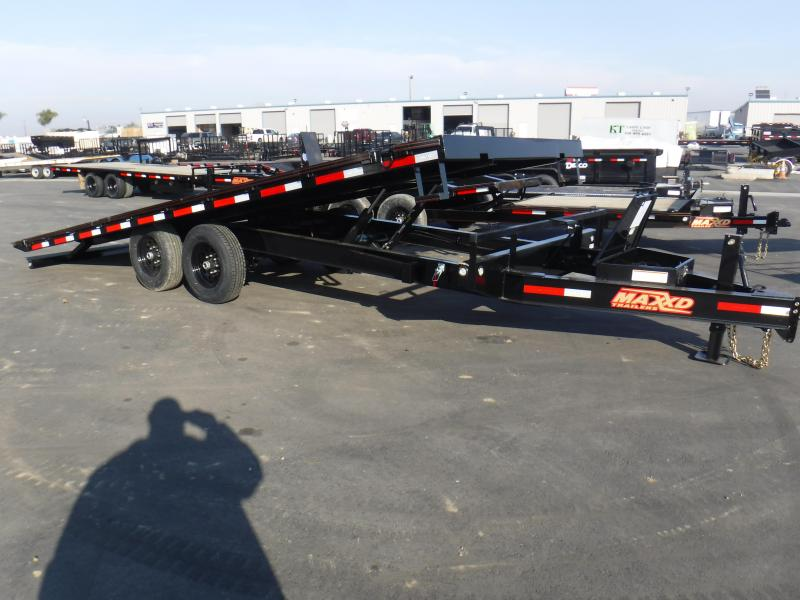 2020 MAXXD 14K POWER TILT Flatbed Trailer
