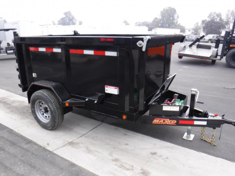 2019 MAXXD 60 SINGLE RAM DUMP Dump Trailer