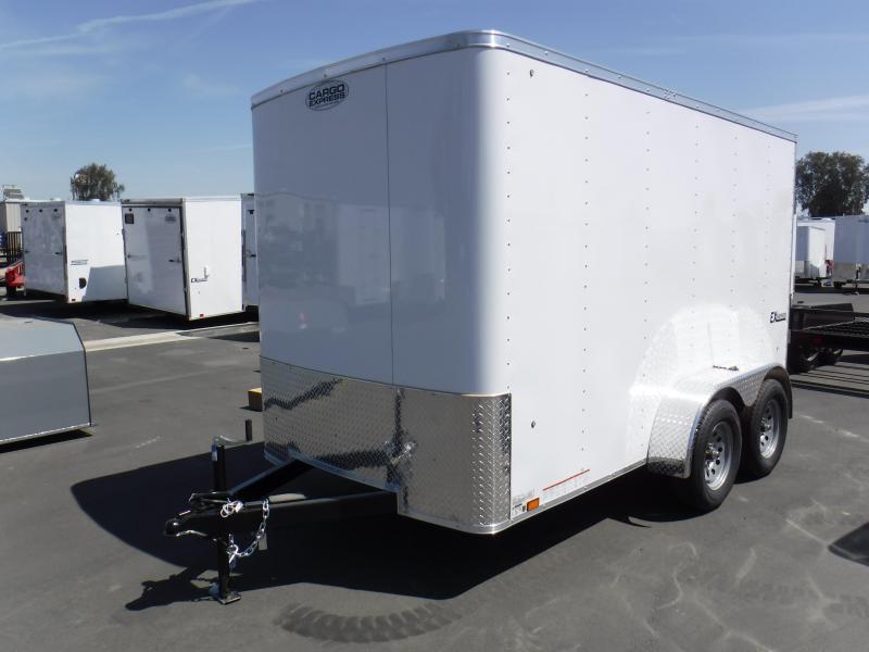 2019 Pace American EX6X12TE2 Enclosed Cargo Trailer