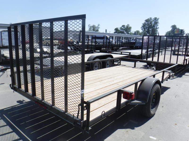 MAXXD WS SINGLE AXLE Utility Trailer