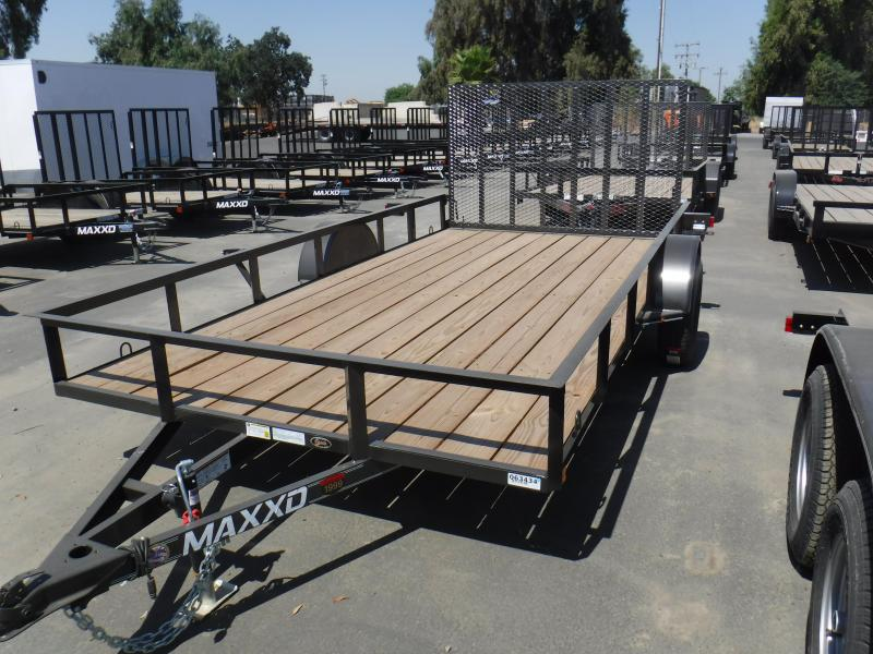 2019 MAXXD WS SINGLE AXLE Utility Trailer