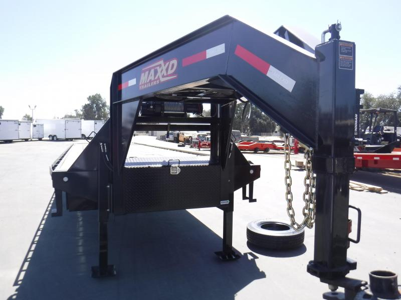 2019 Maxxd Trailers FLATBED TILT WITH DUALS Flatbed Trailer