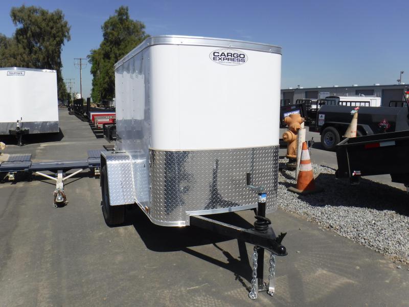 2019 Cargo Express EX4X6S12 Enclosed Cargo Trailer