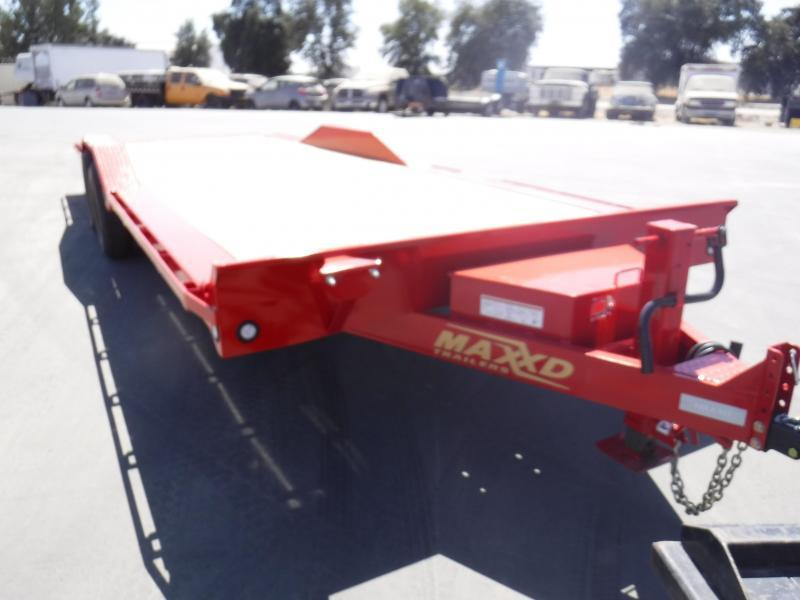 2019 Maxxd Trailers 6 CHANNEL POWER TILT Flatbed Trailer