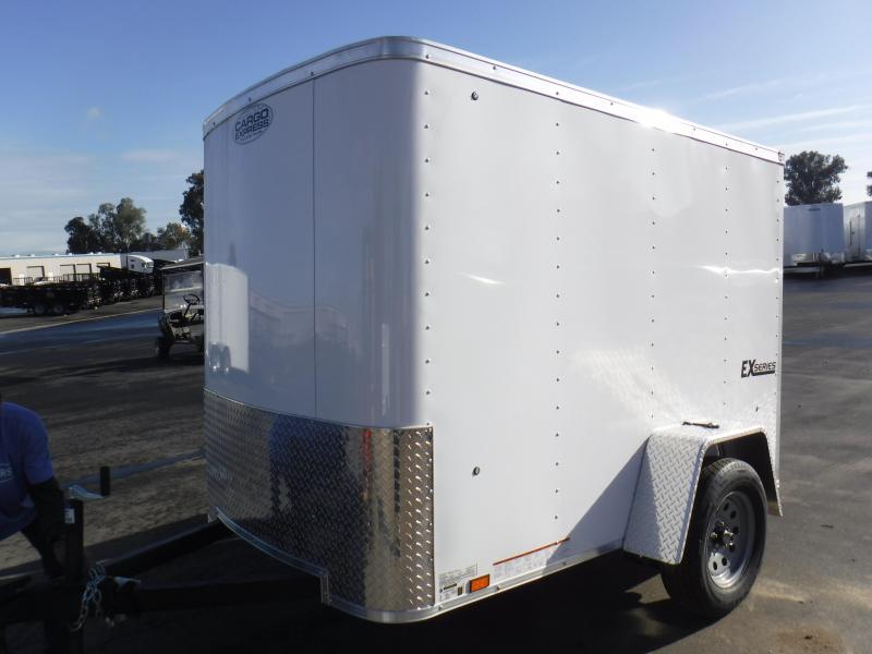2019 Cargo Express EX5X8S12 Enclosed Cargo Trailer