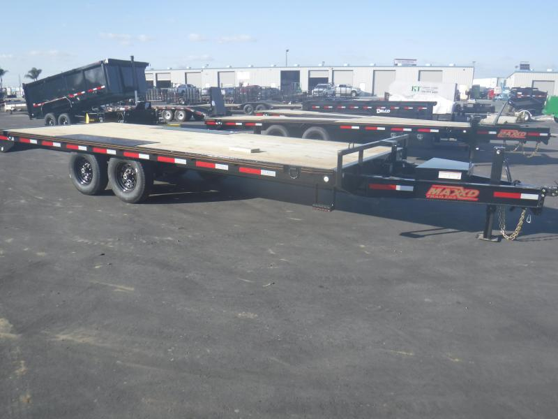 2020 MAXXD 14K I BEAM DECKOVER Equipment Trailer