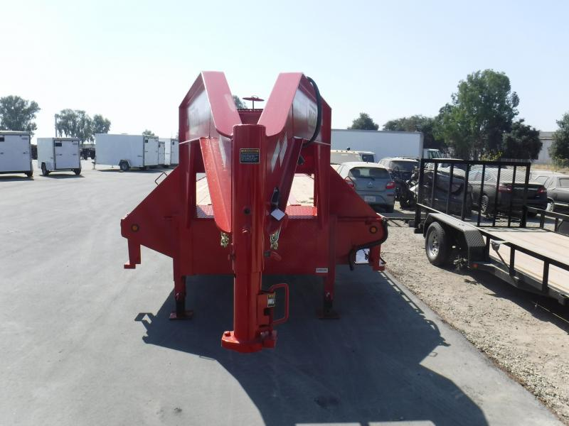 2018 Maxxd Trailers FLATBED TILT WITH DUALS Flatbed Trailer