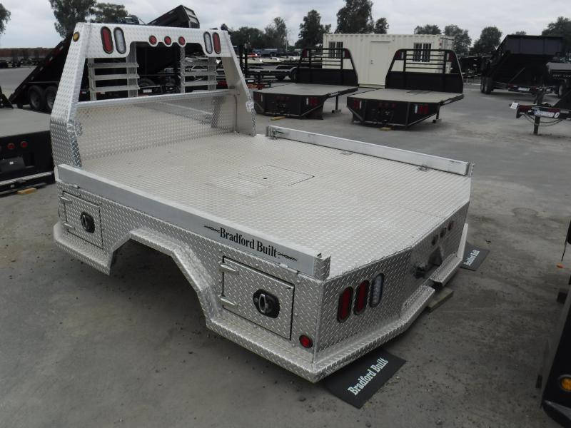 2019 Bradford Built ALUMINUM 4 BOX Truck Bed