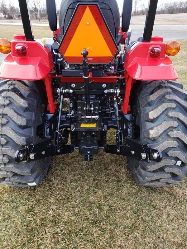 2020 Mahindra 1635H Tractor W/ Loader