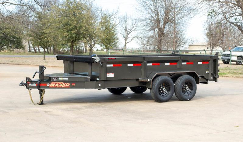"2020 MAXXD 12'X83"" Dump Trailer   ******HAVE EVERY SIZE YOU MAY NEED IN STOCK******"