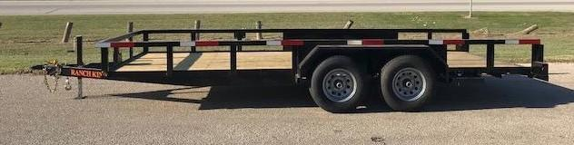 "2019 Ranch King 6'10""X16' Utility Trailer  ******HAVE EVERY SIZE YOU MAY NEED IN STOCK******"