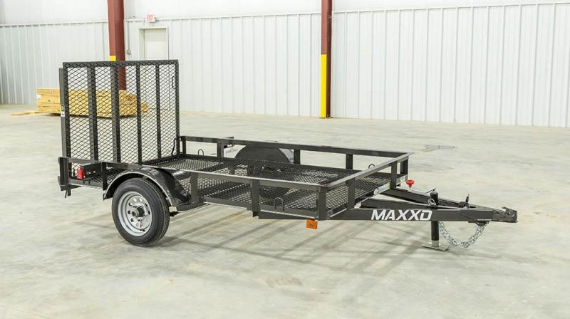 "2018 Maxxd Trailers 8'X61"" Utility Trailer ******HAVE EVERY SIZE YOU MAY NEED IN STOCK******"