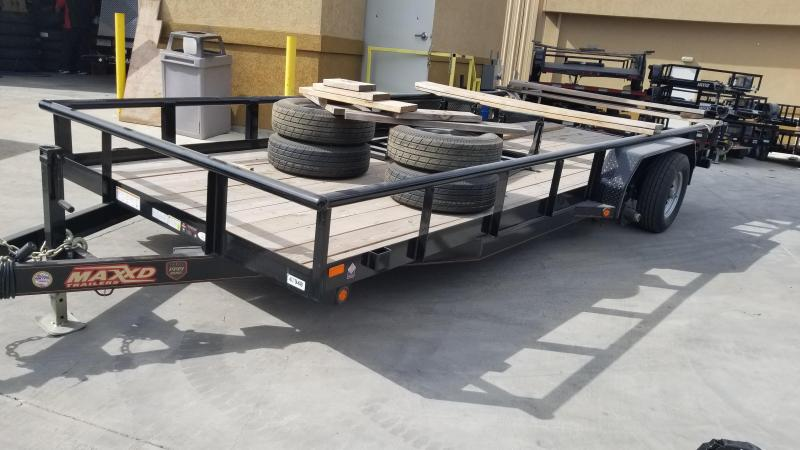 """2017 Maxey 20'X83"""" Utility Trailer   ******HAVE EVERY SIZE YOU MAY NEED IN STOCK******"""