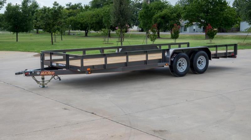 "2019 MAXXD 20'X83"" Utility Trailer   ******HAVE EVERY SIZE YOU MAY NEED IN STOCK******"