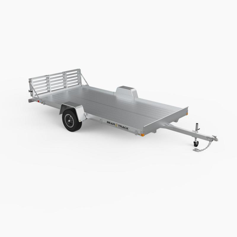 2014 Bear Track 80x144 Aluminum Utility Trailer