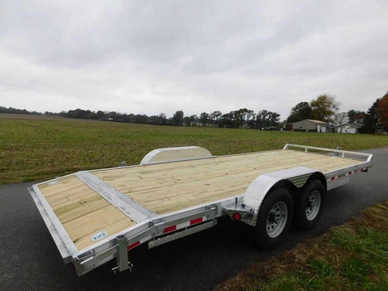 """2019 Quality Steel and Aluminum 83"""" x 18' 10K Aluminum Car Hauler"""