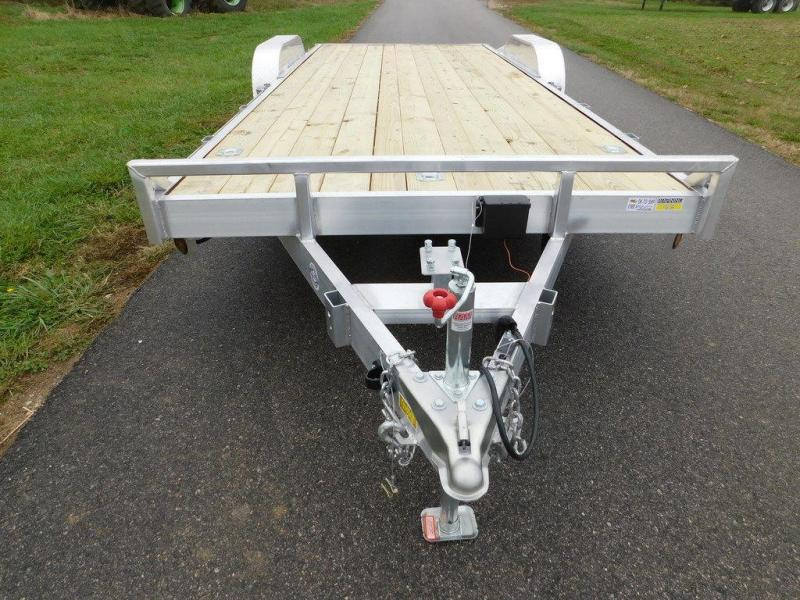 "2019 Quality Steel and Aluminum 83"" x 18' 10K Aluminum Car Hauler"