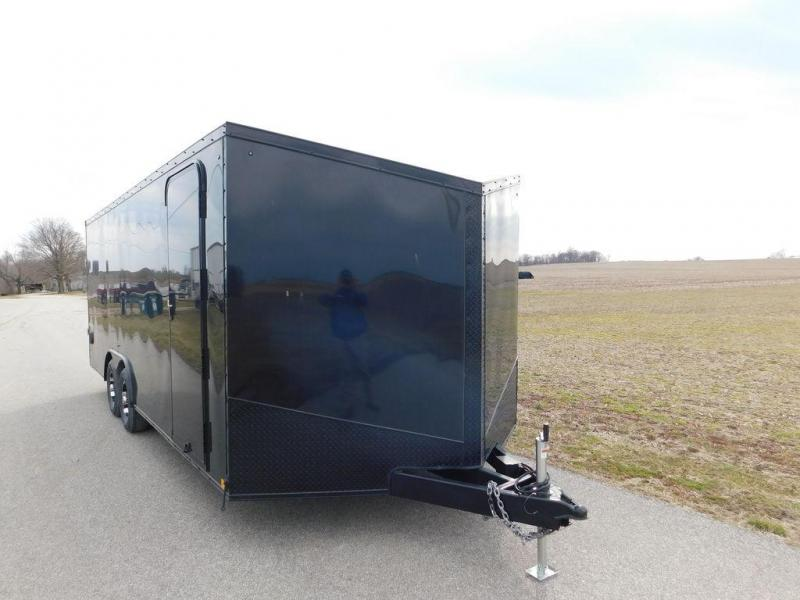2019 Impact Shockwave Car Hauler Blackout ISB-8520TA