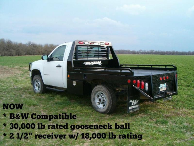 "2020 Hillsboro Industries 96""x136"" GII Truck Bed"