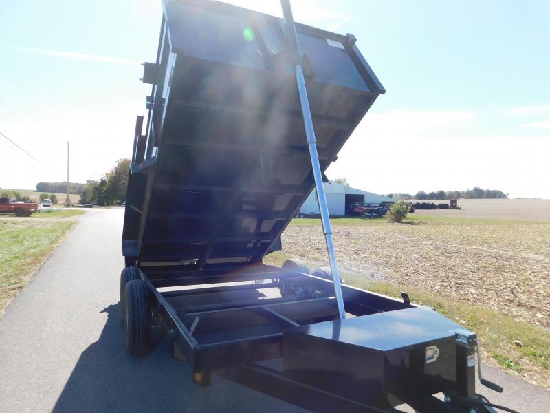 2020 Quality Steel and Aluminum 83 x 12 Dump Trailer