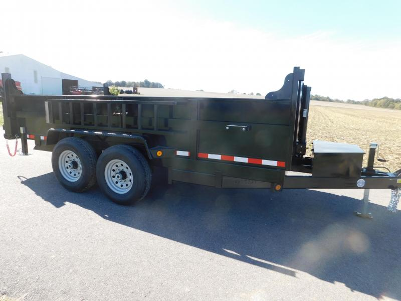 2020 Quality Steel and Aluminum 83 x 12 Dump Trailer