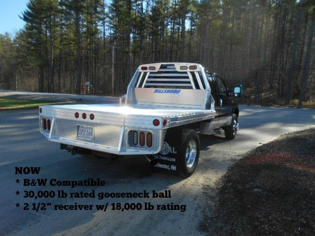"2020 Hillsboro Industries 96""x112"" 2500 Series Aluminum Truck Bed"