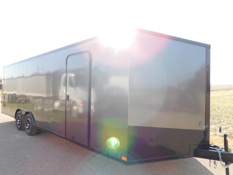 2020 Impact Trailers Shockwave 8.5x24 Enclosed Cargo Trailer
