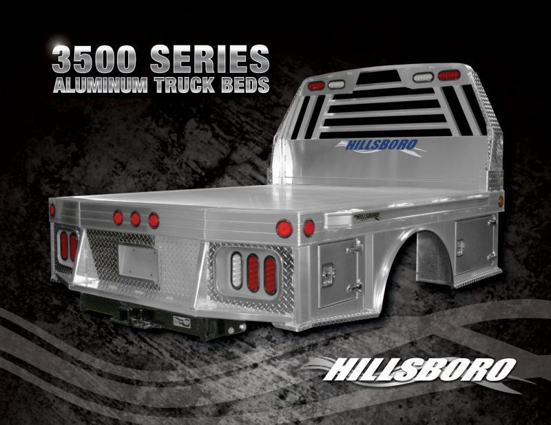 2020 Hillsboro Industries 96x112 3500 Series Aluminum Truck Bed