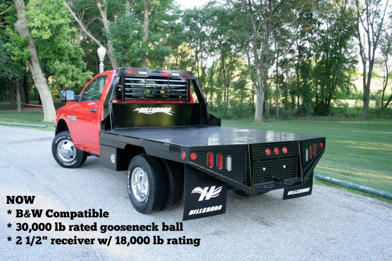 "2020 Hillsboro Industries 80""x84"" GI Steel Truck Bed"