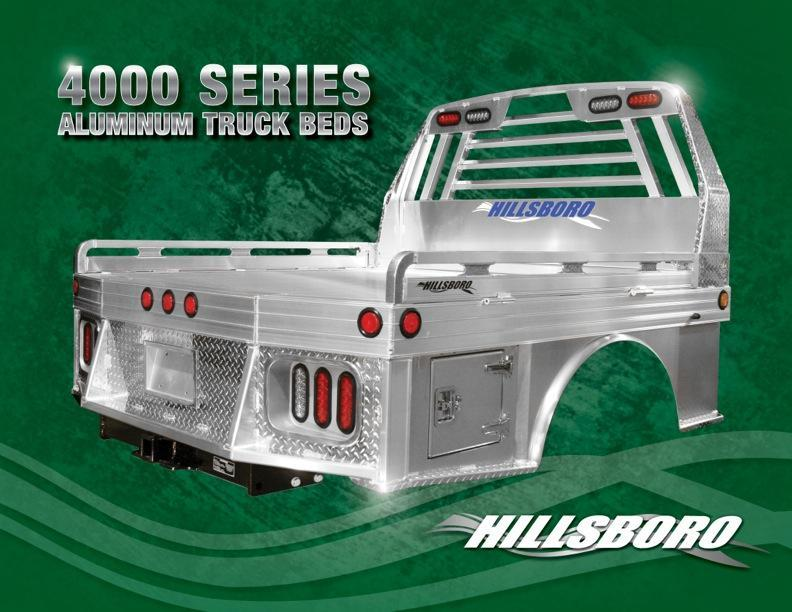 2020 Hillsboro Industries 4000 Series 96x102 Truck Bed