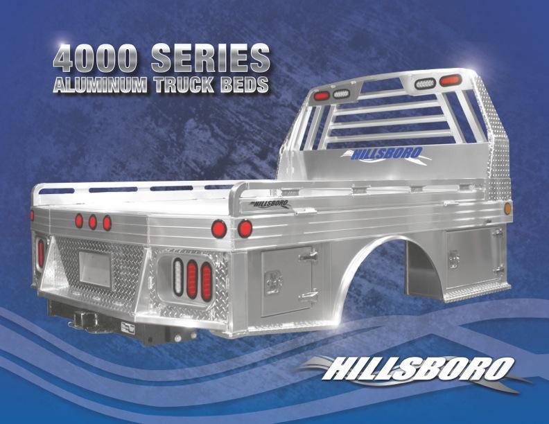 2020 Hillsboro Industries 4000 Series 96x102 Truck Bed
