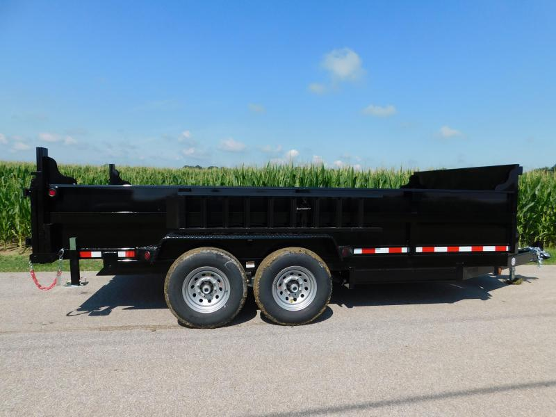 2020 Quality Steel and Aluminum 83x16 Dump Trailer