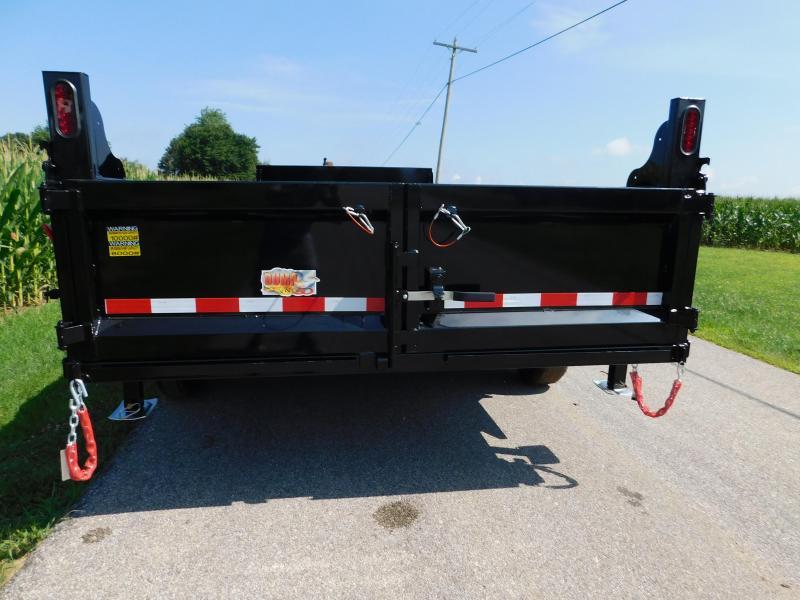 2020 Quality Steel and Aluminum 83x16 Dump Trailer