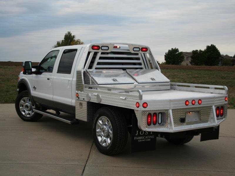 "2016 Hillsboro 3000 Series Aluminum Truck Bed 6'8"" x 9'4"""