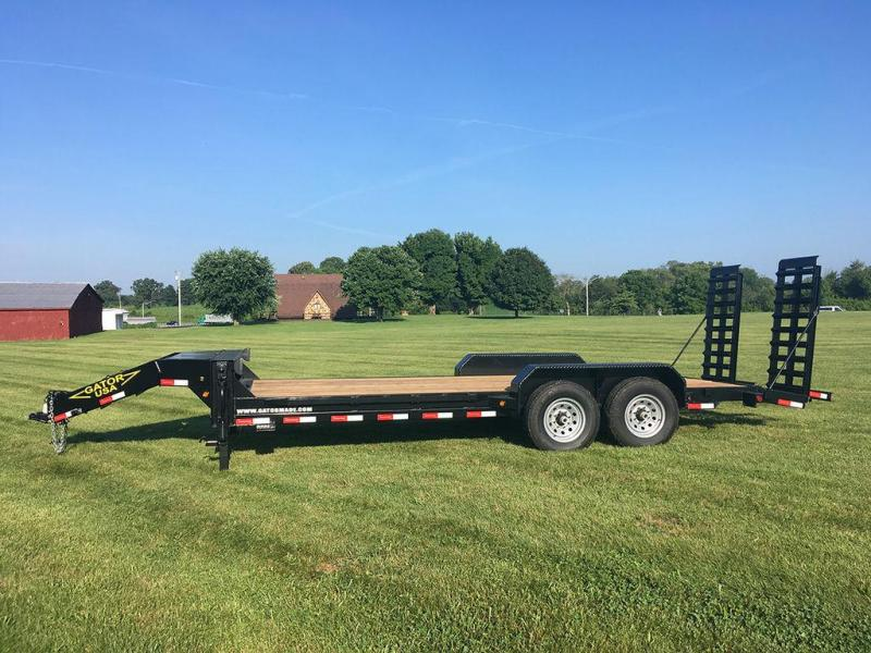 2018 Gatormade Aardwark 14K 18+2 Equipment Trailer