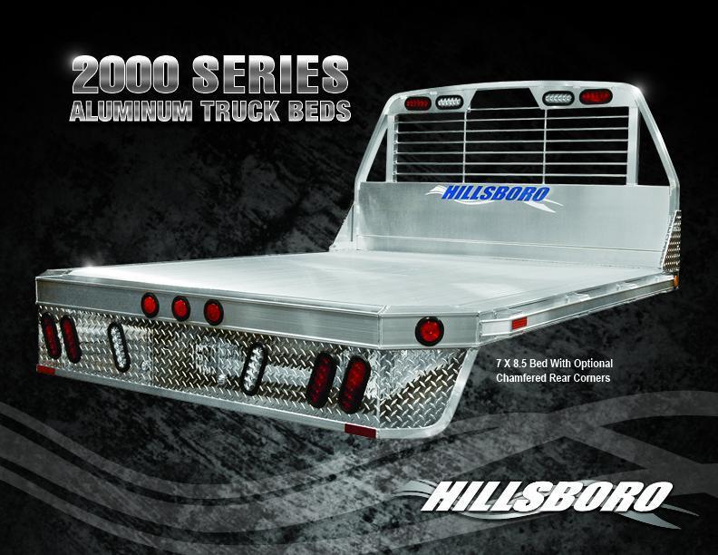 "2020 Hillsboro Industries 96 x 102"" 2000 Series Truck Bed"