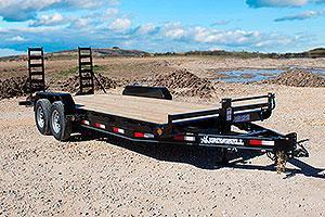 2020 Iron Bull 83x22 Equipment Trailer