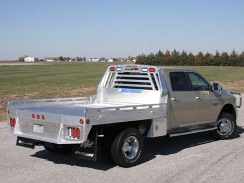 "2017 Hillsboro 3000 Series Aluminum Truck Bed 8' x 8'6"""