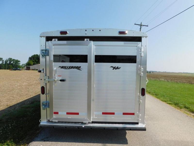 2020 Hillsboro Endura Livestock Trailer 20'