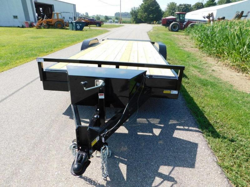 2020 Quality Steel and Aluminum 8320EH Tilt Equipment Trailer